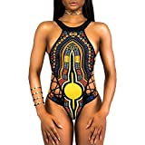 VECDY 2019 Baador Monokini Push Up Traje De Bao tnico Vintage Siams para Mujer Mujeres Vendaje De...
