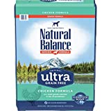 Natural Balance Original Ultra Grain Free Senior Dog Food, Chicken Formula, 24 Pounds