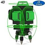 Niveau Laser Autonivelant, Kraumi Laser Niveau Vert 4 X 360° IP54...
