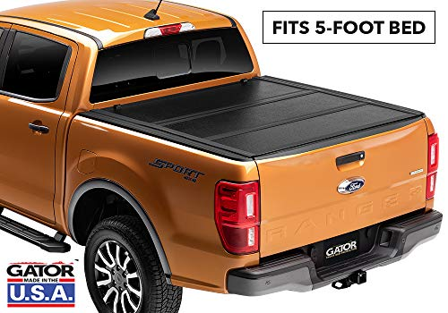 Gator EFX Hard Tri-Fold Truck Bed Tonneau Cover   GC14002   Fits 2015 - 2020 Chevy Colorado/GMC Canyon 5' Bed   Made in the USA