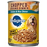 PEDIGREE Traditional Ground Dinner With Chicken and Rice Canned Dog Food 13.2 Ounces (Pack of 12)