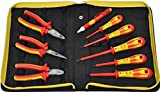 Constructed specifically for the professional Electrician Comprises of the most commonly used electricians tools Includes C.K RedLine VDE pliers Includes C.K DextroVDE screwdrivers Includes C.K protective durable polyester zipped storage wallet
