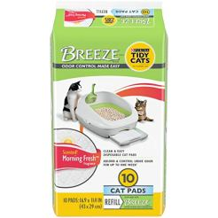 Purina-Tidy-Cats-Litter-System-Breeze-Morning-Fresh-Fragrance-Multi-Cat-Pad-Refills-10-ct-Box