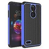 Case for LG K10 2018 / LG K30 / LG Premier Pro LTE/LG K10 Alpha/LG Harmony 2 / LG Phoenix Plus, SYONER [Shockproof] Defender Protective Phone Case Cover [Blue]