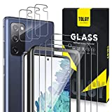 [6 Pack] TQLGY 3 Pack Screen Protector + 3 Pack Camera Lens Protector for Samsung Galaxy S20 FE 5G /...