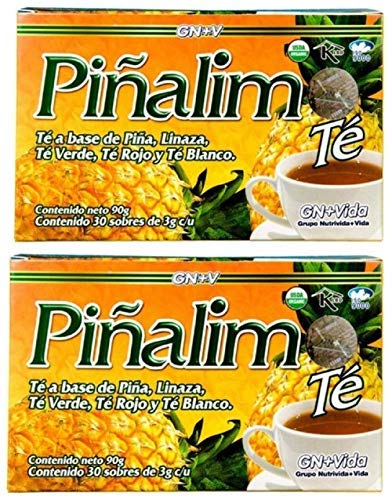 2 Boxes Te Pinalim Tea GN+Vida Weight Loss Tea Diet 60 Day Supply-SET OF 10 1