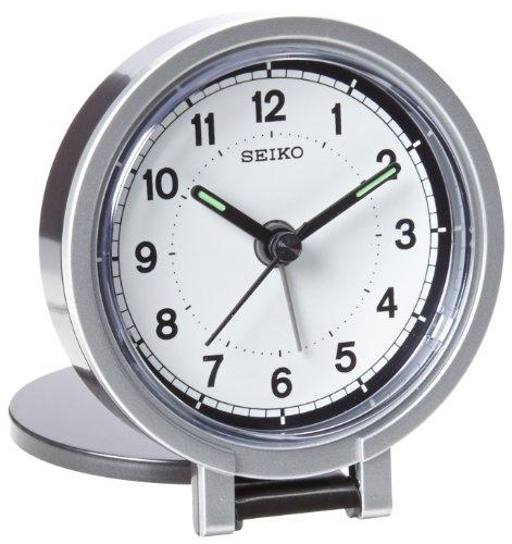 Seiko 3' Round Travel Analog Alarm Clock