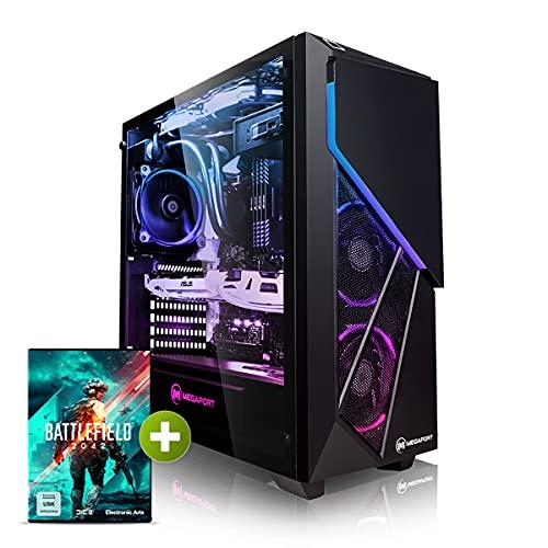 Megaport High End Gaming-PC Intel Core i7-11700KF 8X 5 GHz Turbo • Nvidia GeForce RTX 3080 10GB • 1 TB M.2 SSD • 16GB DDR4 3000 • Windows 10 • 2TB • WLAN • Wasserkühlung