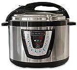 10-in-1 PressurePro 10 Qt Pressure Cooker - Multi-Use Programmable Pressure Cooker, Slow Cooker, Rice Cooker, Steamer, Saut and Warmer - Black