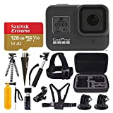 GoPro HERO8 Black Waterproof Action Camera w/Touch Screen 4K HD Video 12MP Photos +Sandisk Extreme...