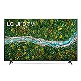 "LG 50UP77006LB Smart TV LED 4K Ultra HD 50"" 2021 con Processore Quad Core 4K, Wi-Fi, webOS 6.0, FILMMAKER MODE, Game Optimizer, Google Assistant e Alexa Integrati, Telecomando Puntatore"