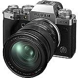 Fujifilm X-T4 Fotocamera Digitale Mirrorless 26MP con Obbiettivo XF16-80mmF4 R OIS WR, Sensore X-Trans CMOS 4, IBIS, Filmati 4K 60p, Mirino EVF, Schermo LCD 3' Touch Vari-Angle, Argento