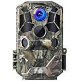 Victure WiFi Trail Game Camera 30MP 1296P with Night Vision Motion Activated IP66 Waterproof and...