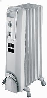 De'Longhi Oil-Filled Radiator Space Heater, Full Room Quiet 1500W, Adjustable..