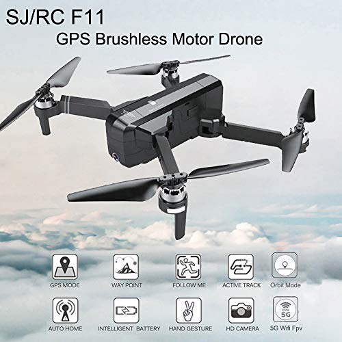 Igemy drone zaino da viaggio borsa per il trasporto, borsa impermeabile zaino per Sjrc F115g WiFi RC Quadcopter camera drone Rc Drone