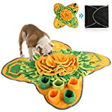 Petyoung Pet Snuffle Mat Dog Feeding Mat for Dogs, Pet Puzzle Toys Durable Interactive Dog Toys Encourages Natural Foraging Skills