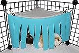 Asocea Tente hamac pour petit animal hamster Cage Accessoires Nid Lit pour...