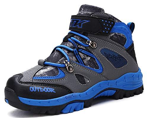 Kinder Wanderschuhe Jungen Wanderstiefel Mädchen Outdoor Trekking Schuhe...