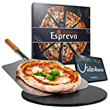 Esprevo Pizzastein Gasgrill & Backofen, rund Ø33cm |...