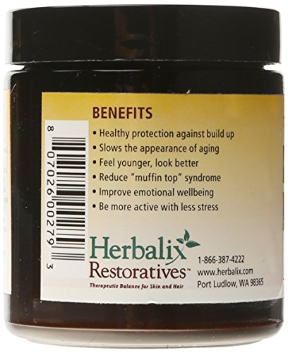 Herbalix Restoratives Belly Fat Freedom Creme, 4 Ounce 4