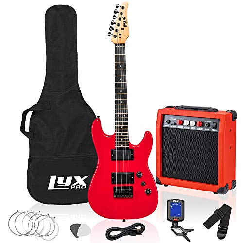 LyxPro Kit for Kids with 3/4 Size Beginner's Guitar