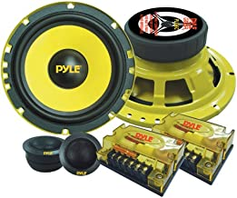"2Way Custom Component Speaker System  6.5"" 400 Watt Component with Electroplated Steel.."