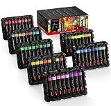 Magicfly Peinture Acryliques 80 Tubes 22 ML (78 Couleurs et 2 médiums...