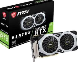 MSI Gaming GeForce RTX 2070 Super 8GB GDRR6 256-bit HDMI/DP NVLink Torx Fan Turing Architecture Overclocked Graphics Card (RTX 2070 Super Ventus OC)
