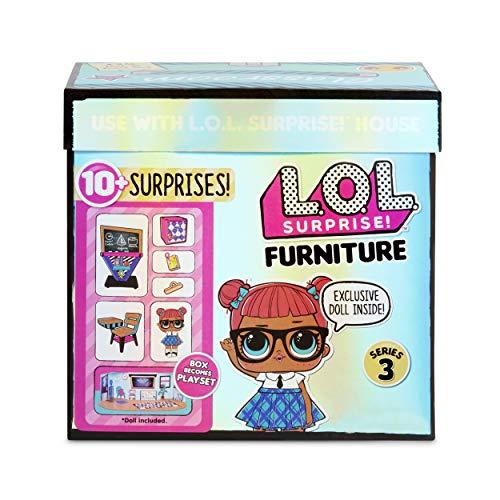 Image 3 - LOL Surprise Poupées collectionnables pour filles - Avec 10 surprises et accessoires - Teacher's Pet - Mobilier Series 3