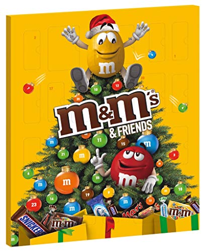M&M's & Friends di Calendario Dell' Avvento Assortimento Misto, 1 Confezione