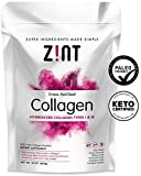 Collagen Powder Peptides: Keto Certified, Paleo Friendly Hydrolyzed Protein Powder - Anti Aging Beauty Supplement - Skin, Hair, Nails (10 oz)