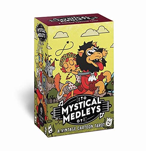 Mystical Medleys: A Vintage Cartoon Tarot (Modern Tarot...