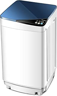 Giantex Full-Automatic Washing Machine Portable Washer and Spin Dryer 7.7 lbs Capacity..