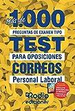 Correos. Personal Laboral: Más de 1.000 preguntas de examen tipo test para oposiciones
