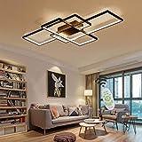 Amter Lampe De Salon LED Lampe De Plafond Lampe De Plafond Dimmable avec...