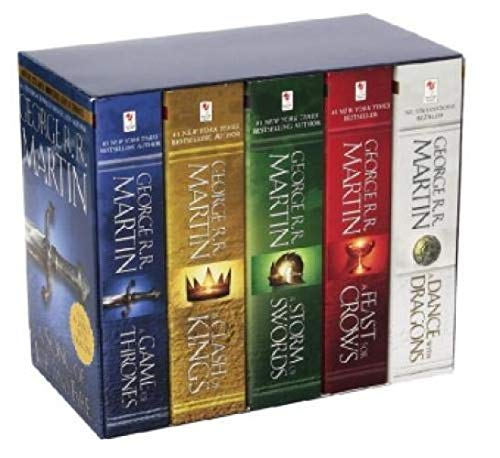 Game of Thrones 5-Copy Boxed Set: A Song of Ice and Fire 1-5 (George R. R. Martin Song of Ice and Fire)