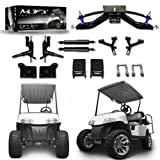 Golf Cart Lift Kit 6'' A-Arm will fit E-Z-Go RXV Electric Golf Carts...