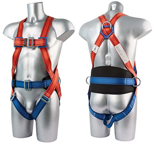 Workwear World WW241 3 Point Sicherheit Fall Arrest Full Body Fall Protection