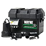 WAYNE ESP15 Battery Back-Up 12 Volt Sump Pump System