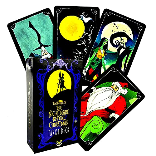 The Nightmare Before Christmas Tarot Card Deck with PDF...