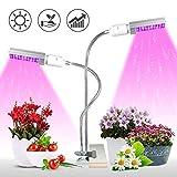 KINGBO Lampe pour Plante, 50W Lampe de Croissance Plante LED Horticole...