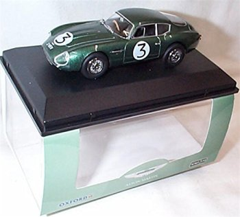 oxford Aston Martin D84GT zagato 2 VEV jim clark goodwood 1961 car 1.43 scale diecast model