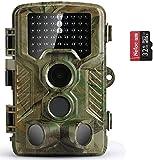 COOLIFE 21MP 1080P HD Caméra de Chasse Caméra de Surveillance Étanche 49...