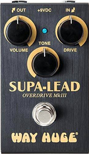 Way Huge Smalls Supa-Lead Overdrive Guitar Effects Pedal (WM31)