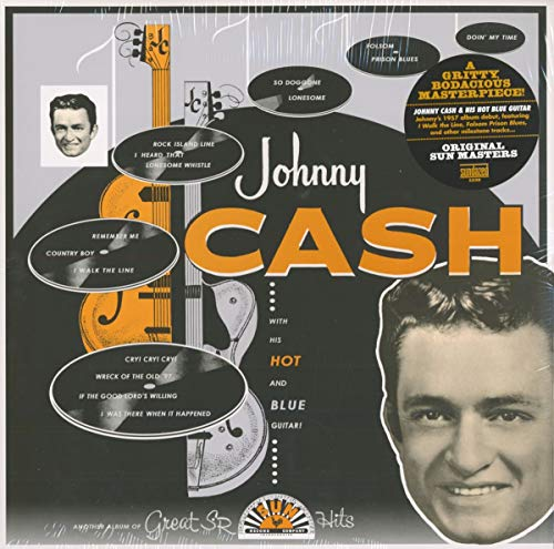 Johnny Cash With His Hot & Blu [12 inch Analog]
