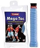 Tourna Mega Tac Extra Tacky Overgrip, Blue, Size 10
