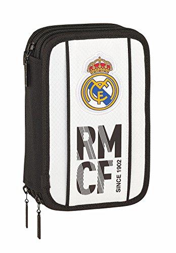 Safta Real Madrid 2018/2019 Plumier Triple 41 Piezas Real Ma
