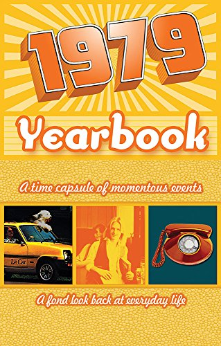 1979 Yearbook Celebration KardLet Birthdays, Anniversaries, Reunions, Homecomings, Client & Corporate Gifts (YB1979)