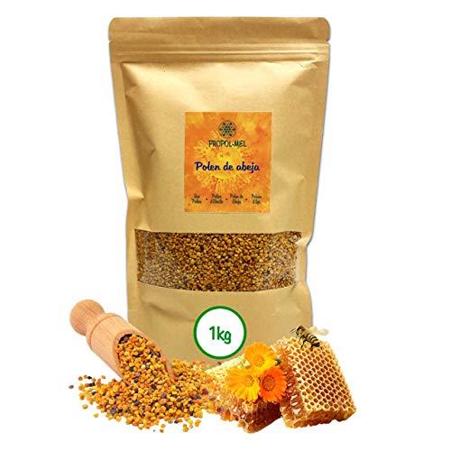 1 kg - Polline proveniente dalla Spagna 100% naturale. Polline dapi privo di residui. Pollini fonte di proteine, amminoacidi, grassi, vitamine e minerali.