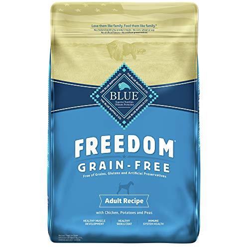Blue Buffalo Freedom Grain Free Recipe for Dog, Chicken Recipe, 11 lb